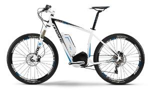 45 km/ h Haibike eq xDuro fs rx 2012 mit Bosch Motor